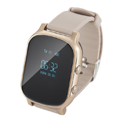 Часы Smart Baby Watch GW700, золотой