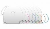 Картридж для 3D принтера CubeX, PLA, в ассортименте